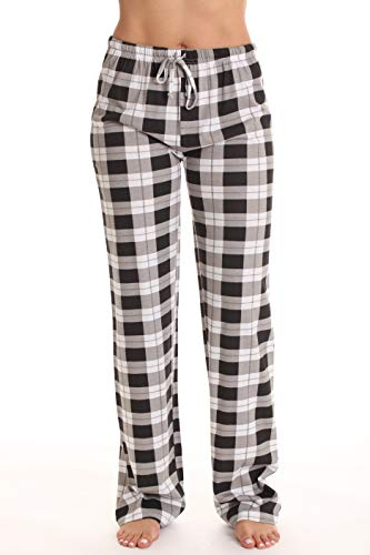 Print Pyjama Bottoms - Just Love Women Pajama Pants Sleepwear 6324-BLK-10018-XL