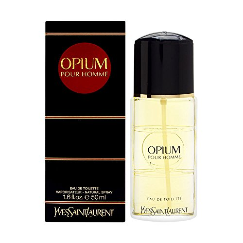 Opium For Men by Yves Saint Laurent Eau De Toilette Spray, 1.6 Ounce