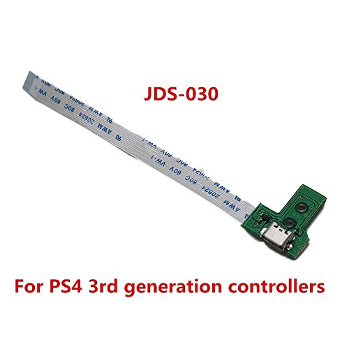 USB Charging Port Socket Board for PS4 Controller Board JDS-030 Charger Board for The 3rd Generation PS4