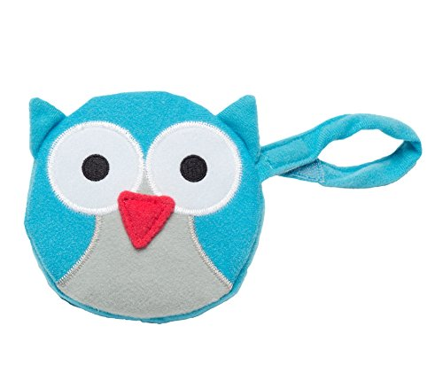 J.L. Childress Pacifier Pal Pacifier Pocket, Teal Owl from J.L. Childress