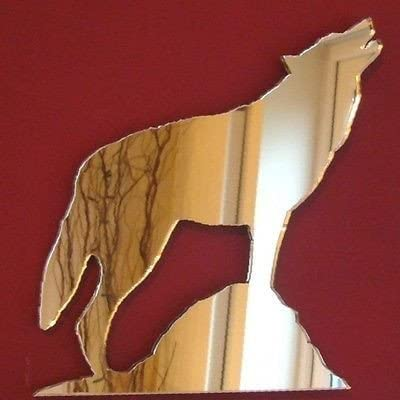 Super Cool Creations Wolf Mirrors – 50cm x 45cm