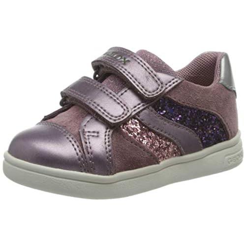 chollos oferta descuentos barato Geox B DJROCK Girl A Sneaker Niñas Rose Smoke 25 EU