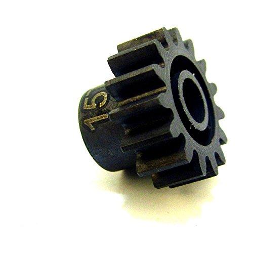 (Hot Racing NSG15M1 15t Steel Mod 1 Pinion Gear 5mm)