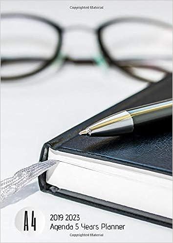 Amazon.com: 2019-2023 Five Year Planner A4 Agenda Goals ...