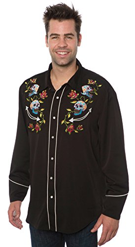 Benny's Day of the Dead Western Shirt (XL)