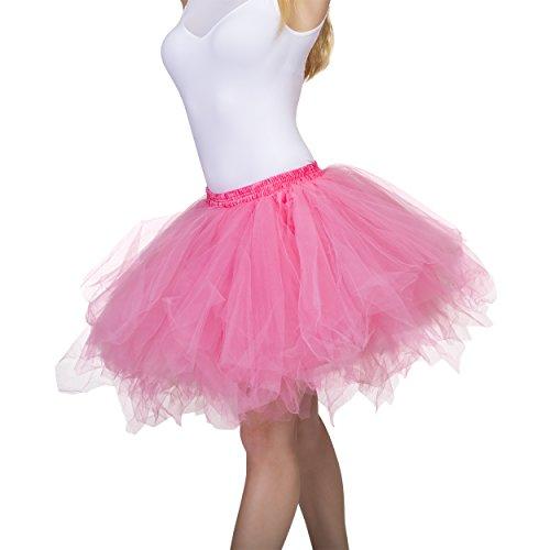 Women Tutu For (Dancina Women's Adult Vintage Petticoat Tulle Tutu Skirt Regular Size)