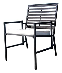 PTC Home & Garden Havana Folding Chair, Black from PTC Home & Garden