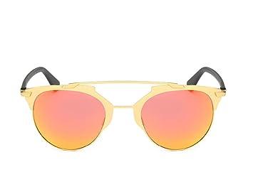 natood película en color Gafas de sol polarizadas Hombres y Mujeres Trend, naranja