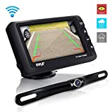 Wireless Rear View Backup Camera - Upgraded Vehicle Parking Reverse System w/ Monitor Kit, IP67 Waterproof and Fog Resistant, 4.3'' LCD Screen, Tilt-Adjustable Dash Cam, Night Vision - Pyle