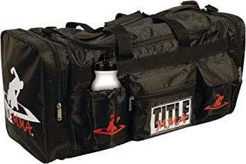 Title Boxing MMA Deluxe Equipment Bag Black