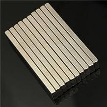 5pcs N50 Super Strong Block Cuboid Magnets 60x10x4 mm Rare Earth Neodymium Magnets