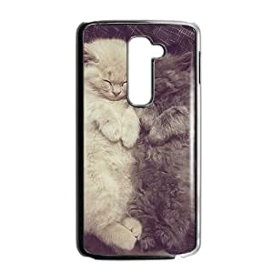 Lovely sleeping cats fashion phone case for LG G2