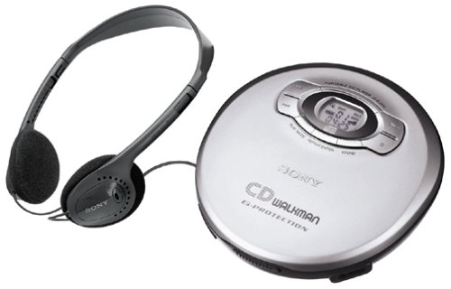 Sony DEJ611 Portable CD Player - Silver (Discontinued by Manufacturer) by Sony