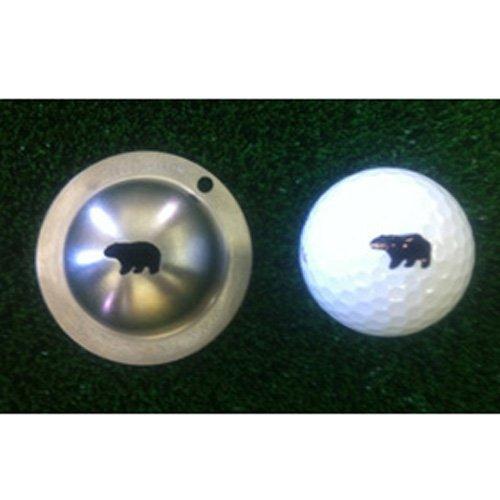 Tin Cup Hibernator Golf Ball Marking Stencil, Steel