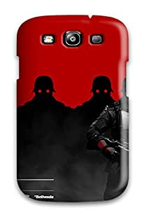 Protective Case For Galaxy S3(2013 Wolfenstine The New Order)
