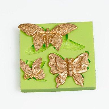 FMY Filigrana Mariposa molde de silicona para arcilla de polímero de Chocolate Candy Making Sugarcraft herramientas decoración de pasteles molde: Amazon.es: ...