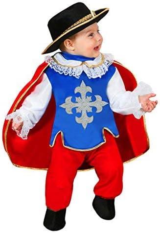 Disfraz de carnaval Mosquetero 62 cm: Amazon.es: Bebé