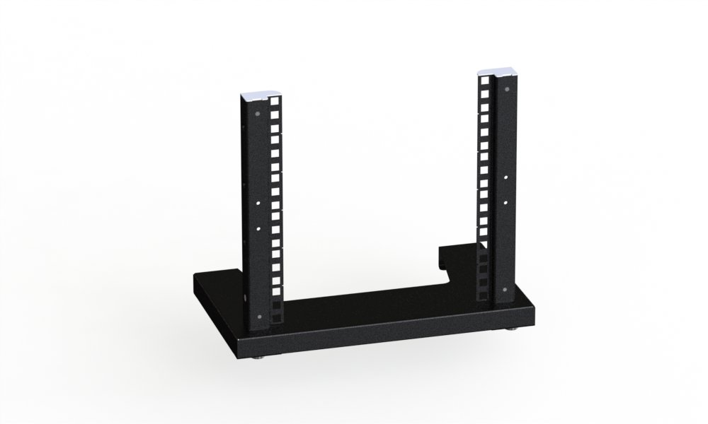 Rack Magic/ /6U/ 254/mm /10/pulgadas Rack Stand/ /Negro de distribuci/ón de armario