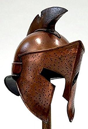 NAUTICALMART Helmet Of Greek Spartan Armor Costume-Rise Of AN Empire  sc 1 st  Amazon.com & Amazon.com: NAUTICALMART Helmet Of Greek Spartan Armor Costume-Rise ...