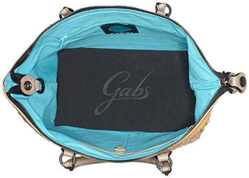 GABS G3-B M INFIES, Bolso Mujer, 1x31x38 cm Negro (Black+black)