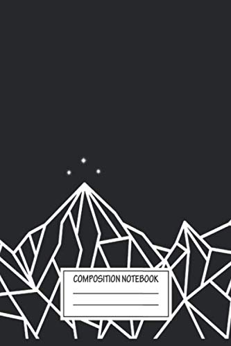 Notebook: Night Court Mountains , Journal for Writing, Size 6
