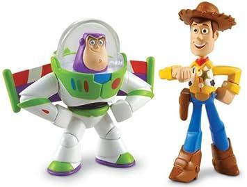 Disney Pixar Toy Story 3 figura de acción Buddy unidades Hero Buzz Lightyear    Walking Woody a212cf3c5b8