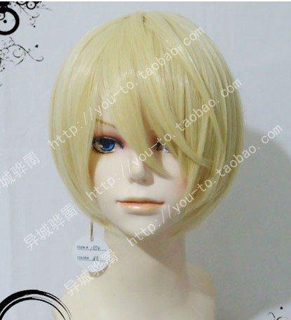 [Heat-resistant high-quality wig Black Butler Alois cosplay wig costume (japan import)] (Black Butler Alois Costume)