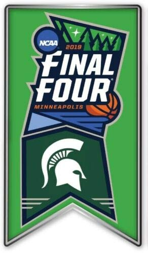 (Elusive Dream Marketing Services 2019 Mens Final Four PIN Michigan State Spartans NCAA Basketball College March Madness)