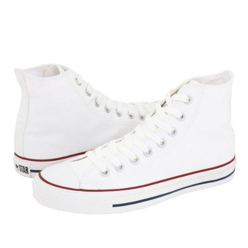 Converse, Sneaker Femme Blanc Blanc