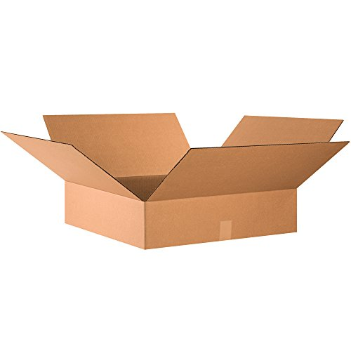 Ship Now Supply SN24246 Flat Corrugated Boxes, 24