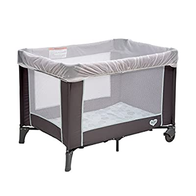 Delta Children Universal Mosquito Net for Strollers, Joggers, Play Yards & Pack 'n Plays | Portable Netting Protects Against Mosquitos, No-See-Ums & Other Insects