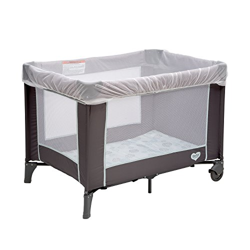 Delta Children Universal Mosquito Net for Strollers, Joggers, Play Yards & Pack ?n Plays | Portable Netting Protects Against Mosquitos, No-See-Ums & Other Insects