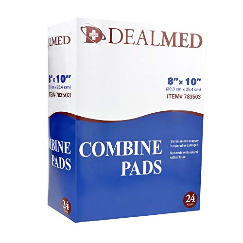 Dealmed Sterile Abdominal (ABD) Combine Pads, 8