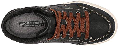 Skechers Kids 93695L Planfix Bowen Sneaker (Little Kid/Big Kid) Black
