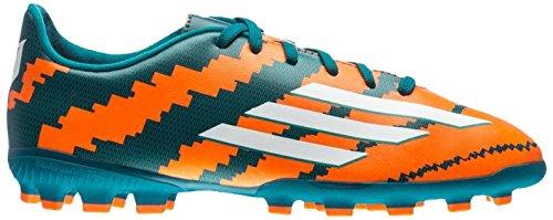 adidas Messi 10.3 AG J - Botas para hombre, color verde / naranja / plata