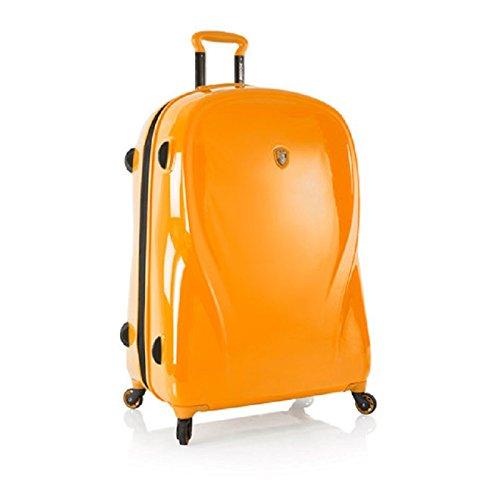 heys-xcase-2g-atomic-tangerine-30-spinner-luggage-100-polycarbonate