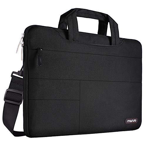 MOSISO Laptop Shoulder Bag Compatible 15-15.6 Inch