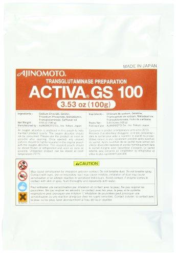 Ajinomoto Transglutaminase GS, 3.53 Ounce