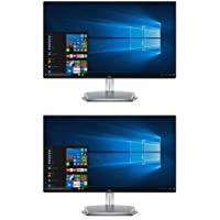 Dell 2 Pack S2718H 27 InfinityEdge Full HD IPS LED Monitor with Integrated Speakers