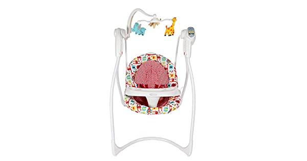 64d8189043d9b Graco 1L98WDOE Baby Swing Loving Hug With Plug Wild Day out  Amazon.ae