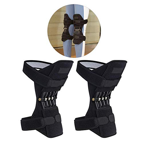 (IMSHI Tibial Booster Spring Kneepad Knee Protection Decompression Carrying Convenient Breathable Sweat Mountaineering Squat Outdoor Sports)