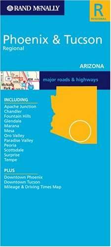 Rand McNally Phoenix & Tucson (Rand McNally City Maps)