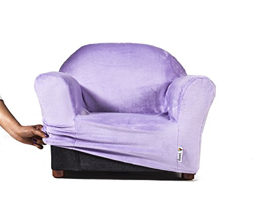 keet roundy kids chair cover only, 9 colors available (lavender)