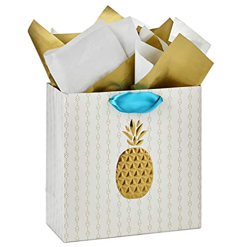 Hallmark 5WDB5989 Signature Large Tissue Paper (Pineapple) gift bag, ()