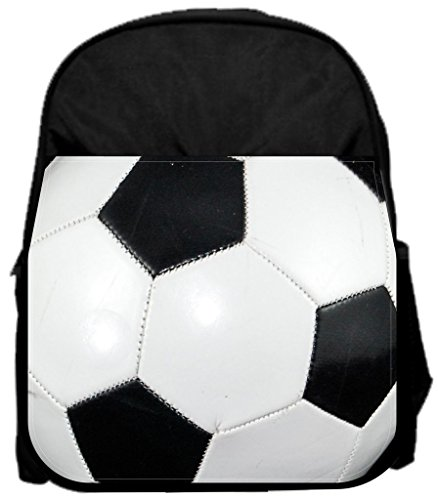 Soccer ball 14'' x 12'' Small Backpack and 4.5'' x 8.5'' Pencil Case SET by Rosie Parker Inc.