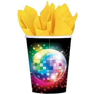 Disco Fever 9 Oz Cups - 8 Per Unit