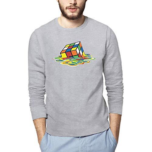 Homme Pull À Winjin shirt Top Haut Blouse Longues Mode Gris Rugby Fit Manches Chemise Polo La Slim Imprimé Shirt Soldes Sweat T Cher Tee Ananas Pas Sweatshirt 1 zzrWnA8
