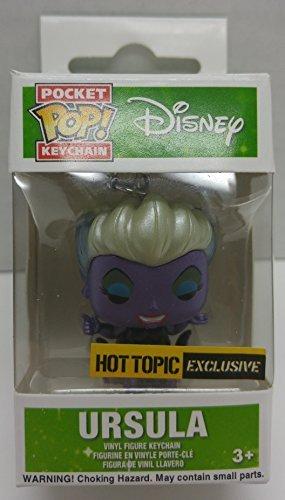 Disney Ursula Metallic exclusive Funko Pocket POP keychain ...