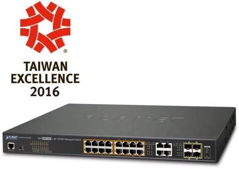 Planet GTP-805A 1000Base-X to 10//100//1000Base-T 802.3at//Af PoE Media Converter