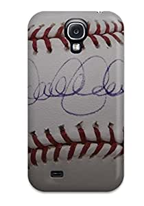 Durable Case For The Galaxy S4- Eco-friendly Retail Packaging(derek Jeter Baseball )